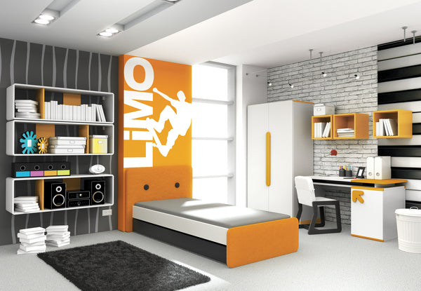 Pl plus colour box orange