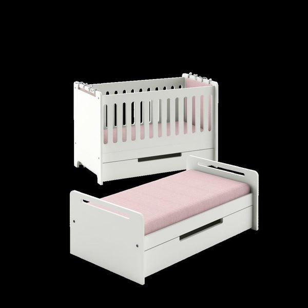 SIMPLE BABY SINGLE BED 140X70