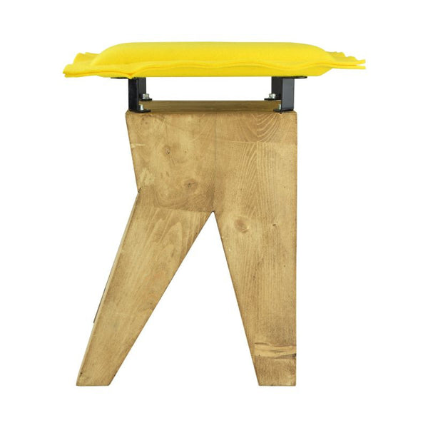 low chair yellow