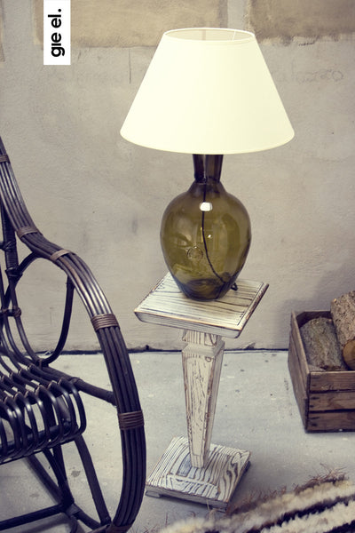 glass table lamp LGH0072