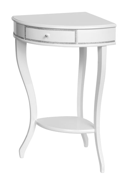 Corner table white PE2212