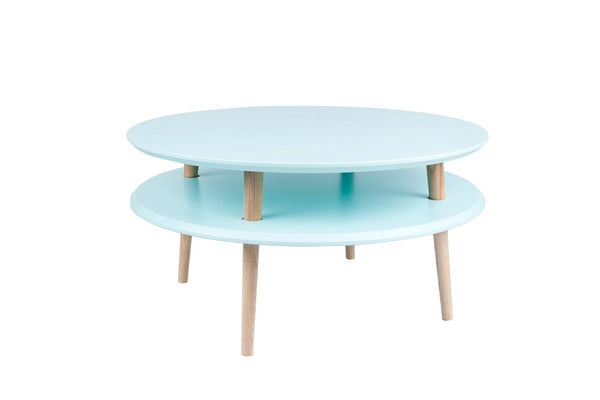 Cabinet UFO low 70 cm bright turquoise