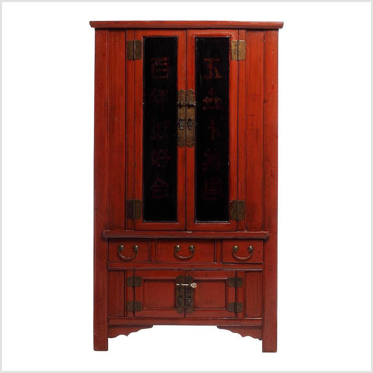 Red and Black Armoire
