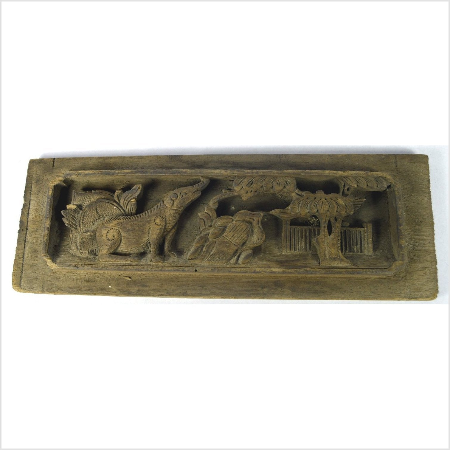 Antique Chinese Architectural Temple Plaque