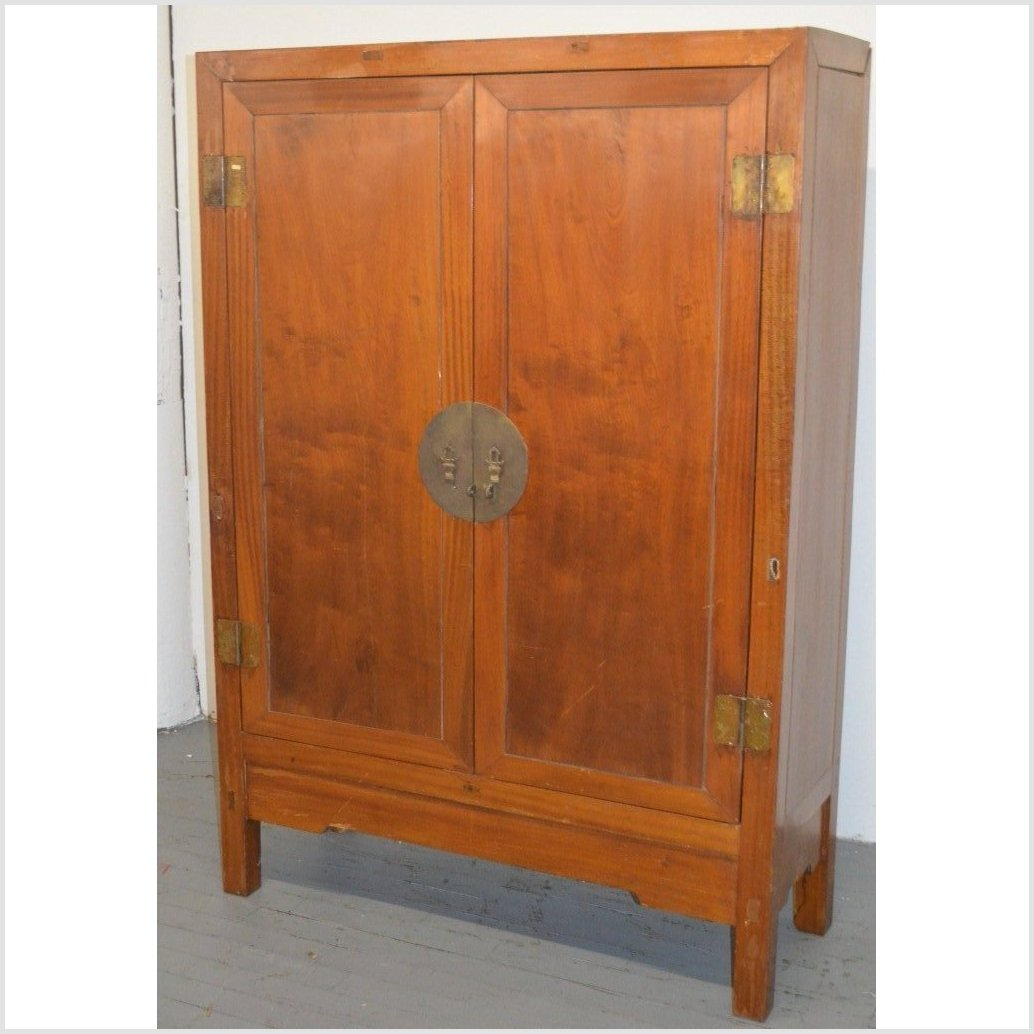 Light Reddish-Brown Cabinet