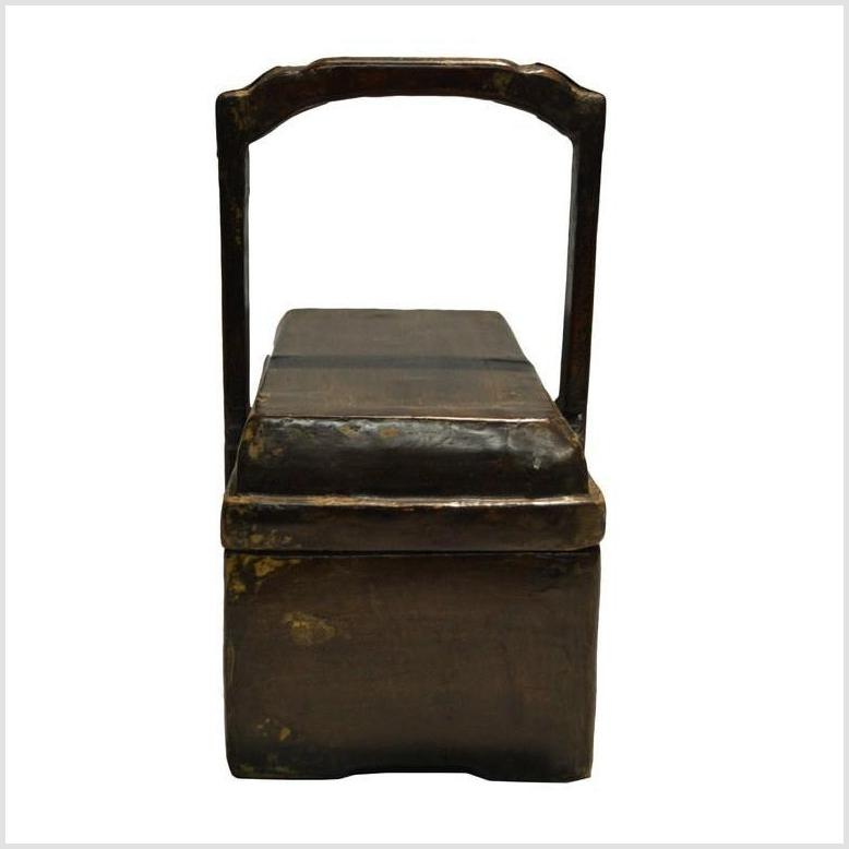 Antique Chinese Dowry Wooden Box