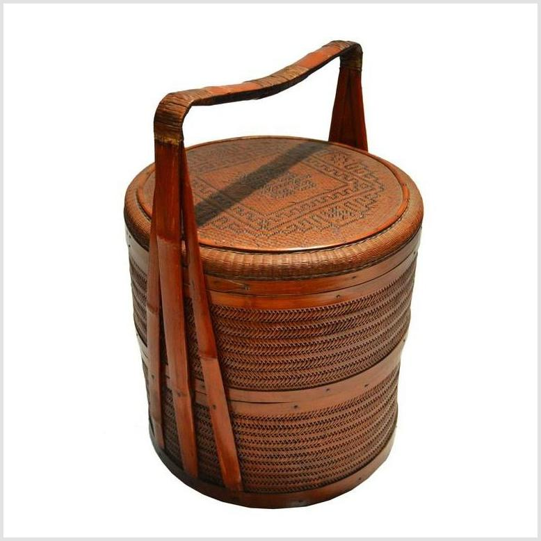 Antique Chinese Lunch Box