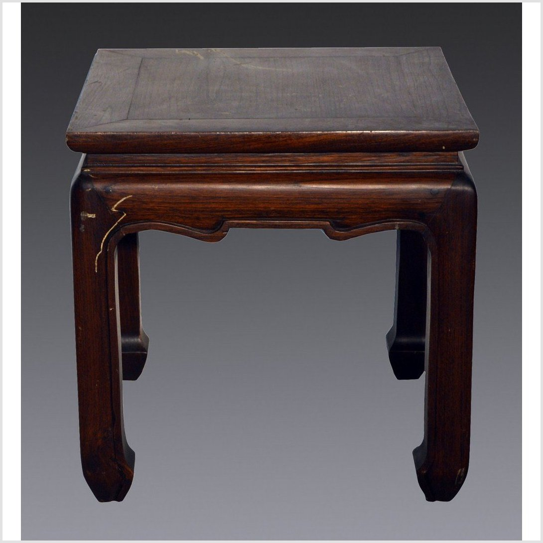 Antique Chinese Square Side Table