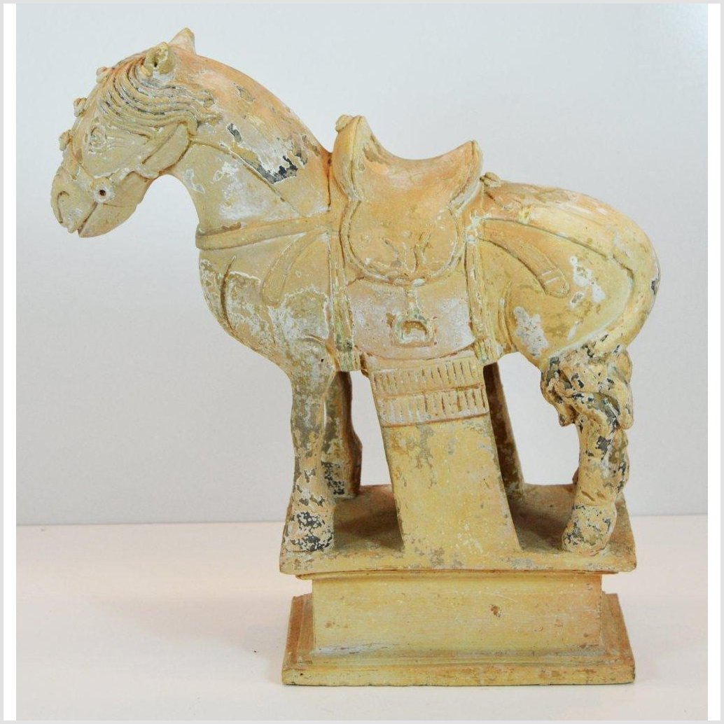 Antique Chinese Tang Terracotta Horse