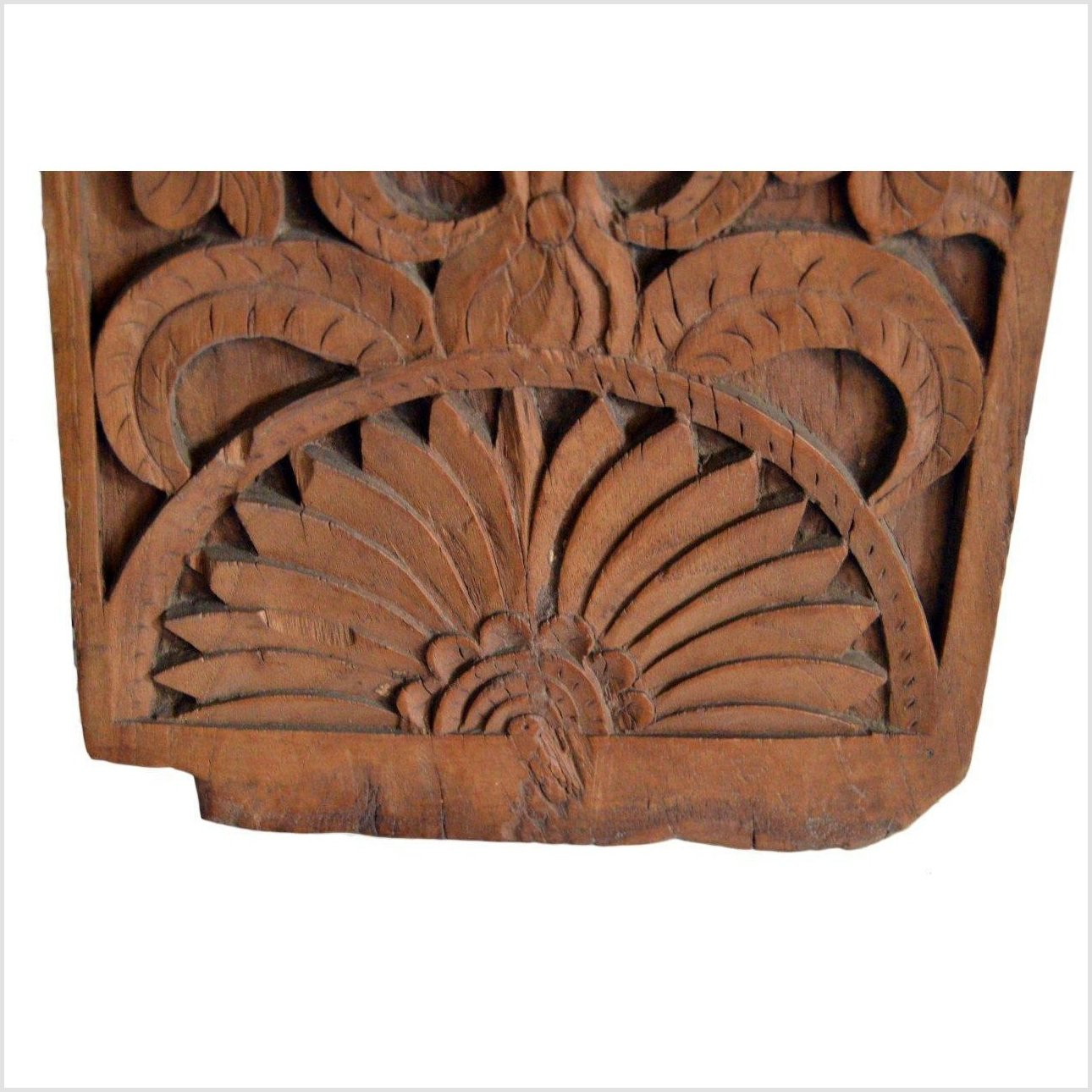 Antique Hand Carved Wall Ornament