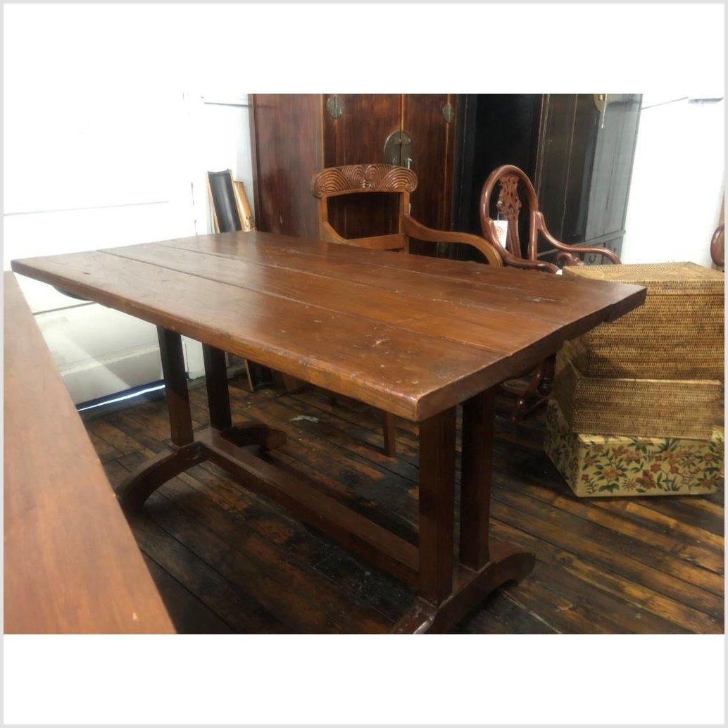 Antique Indonesian Dining Table