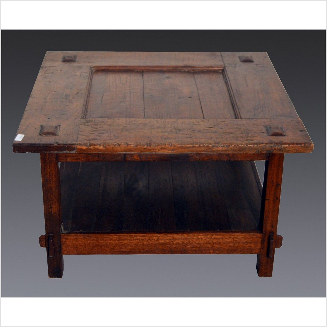 Antique Indonesian Wooden Coffee Table