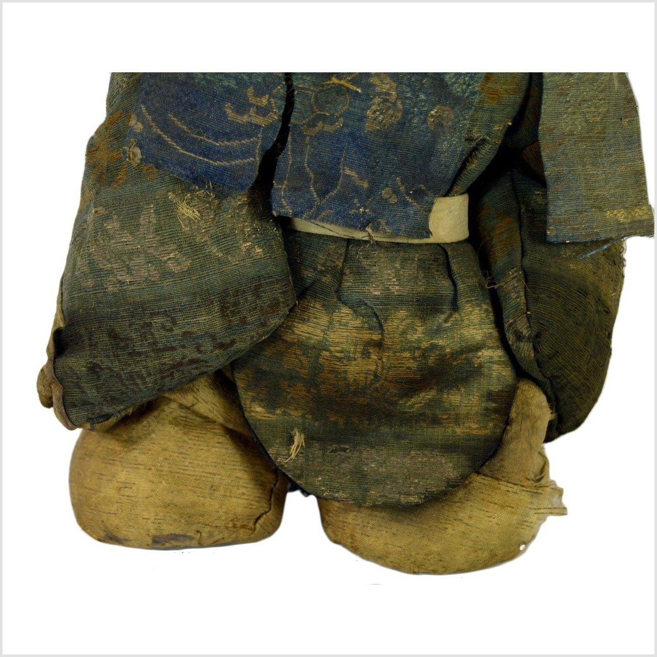 Antique Japanese Edo Samurai Doll