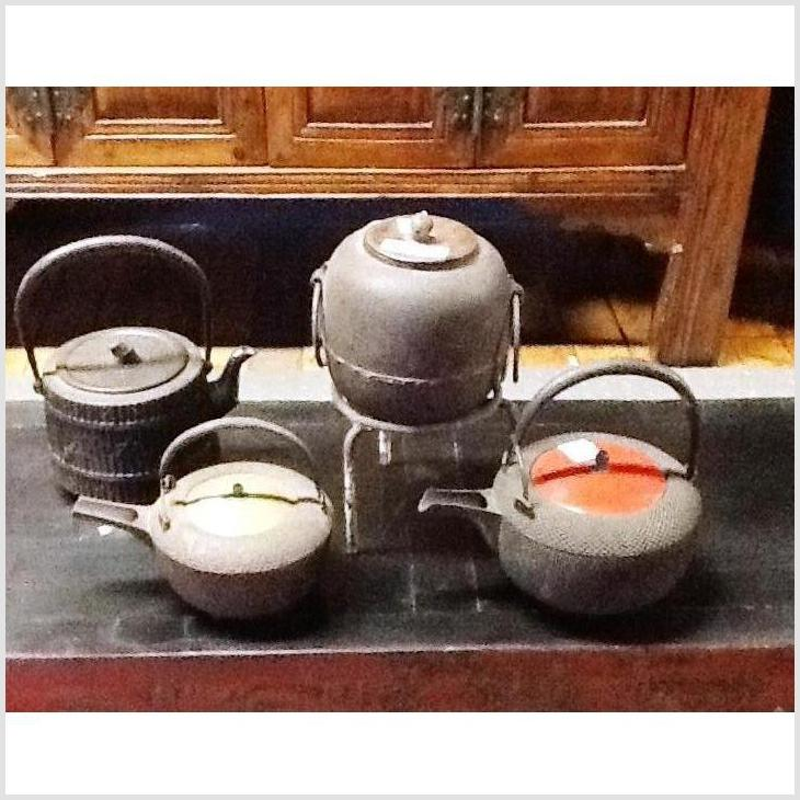 Antique Meiji Period Tea Pots