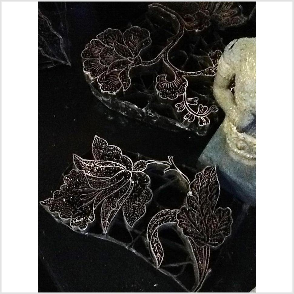 Antique Metal Batik Printing Blocks
