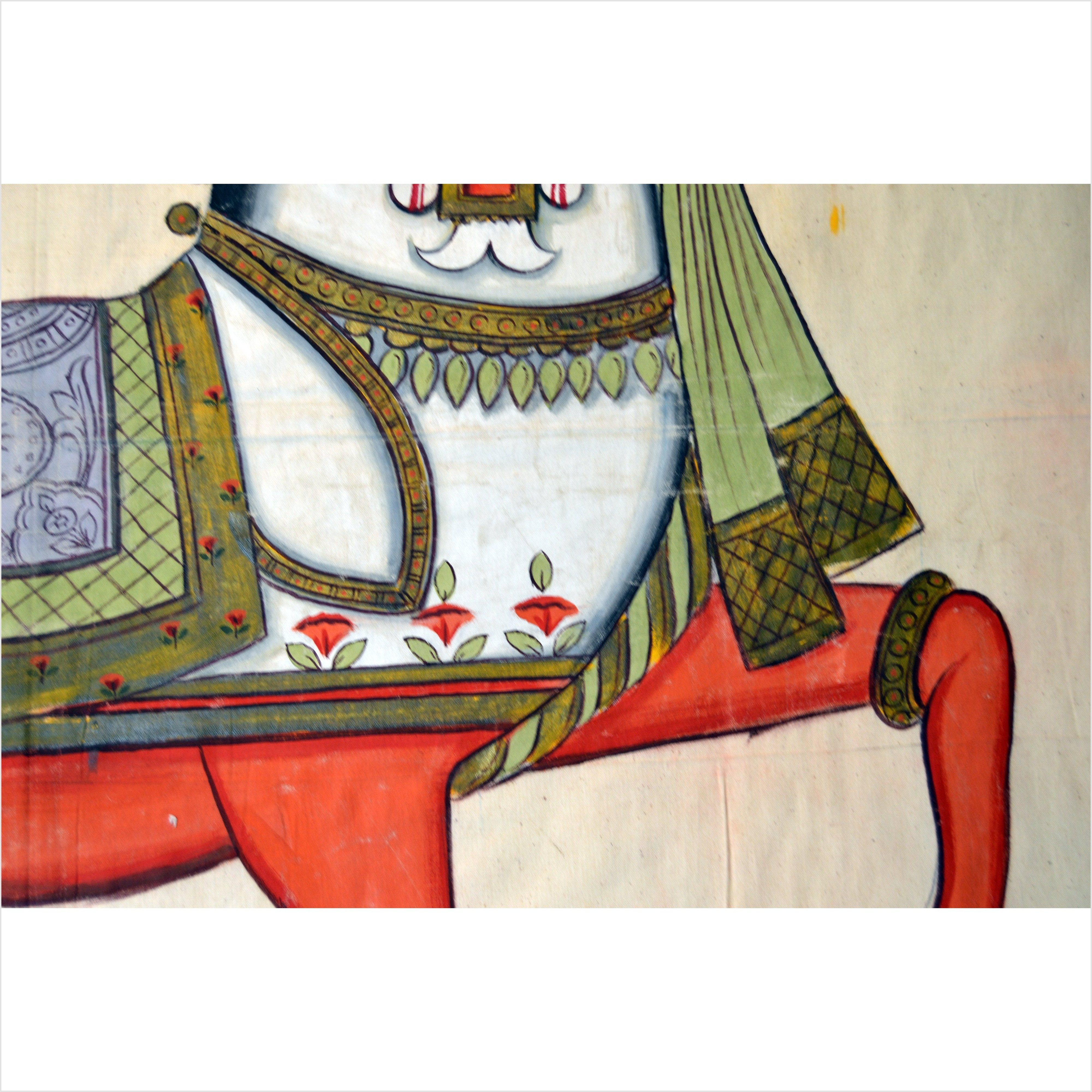 Antique Mughal Indian Horse Painting