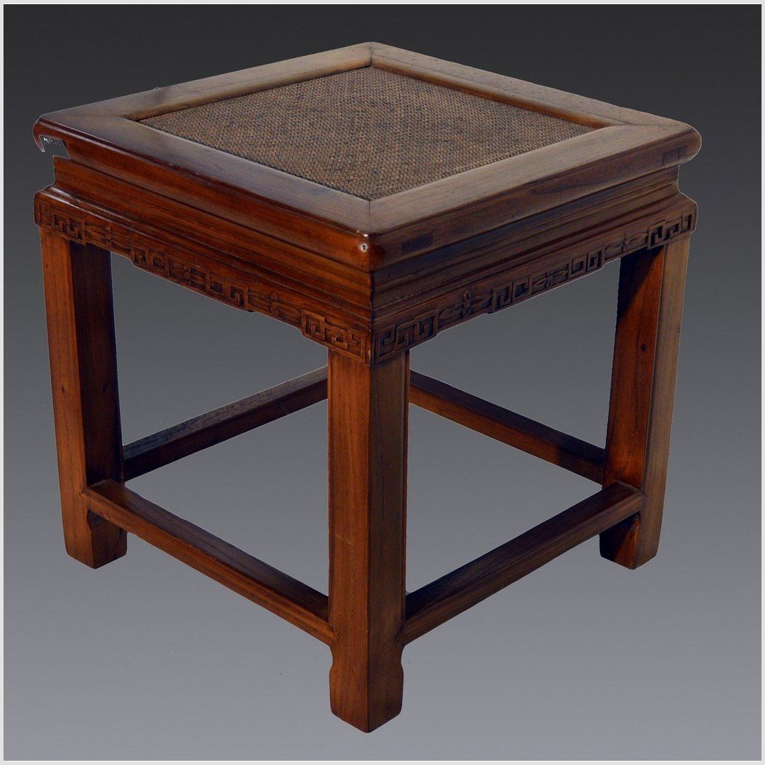 Antique Square Side Table