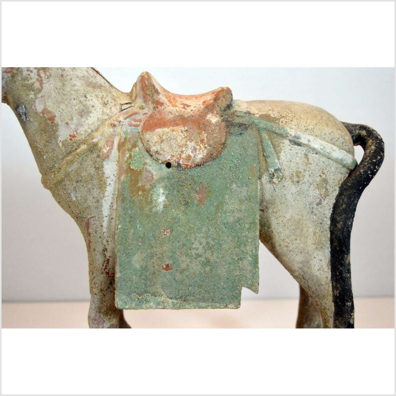 ANTIQUE TERRACOTTA  HORSE