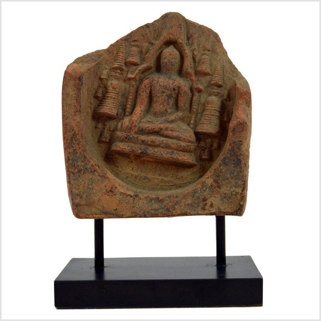 ANTIQUE TERRACOTTA TEMPLE TILE