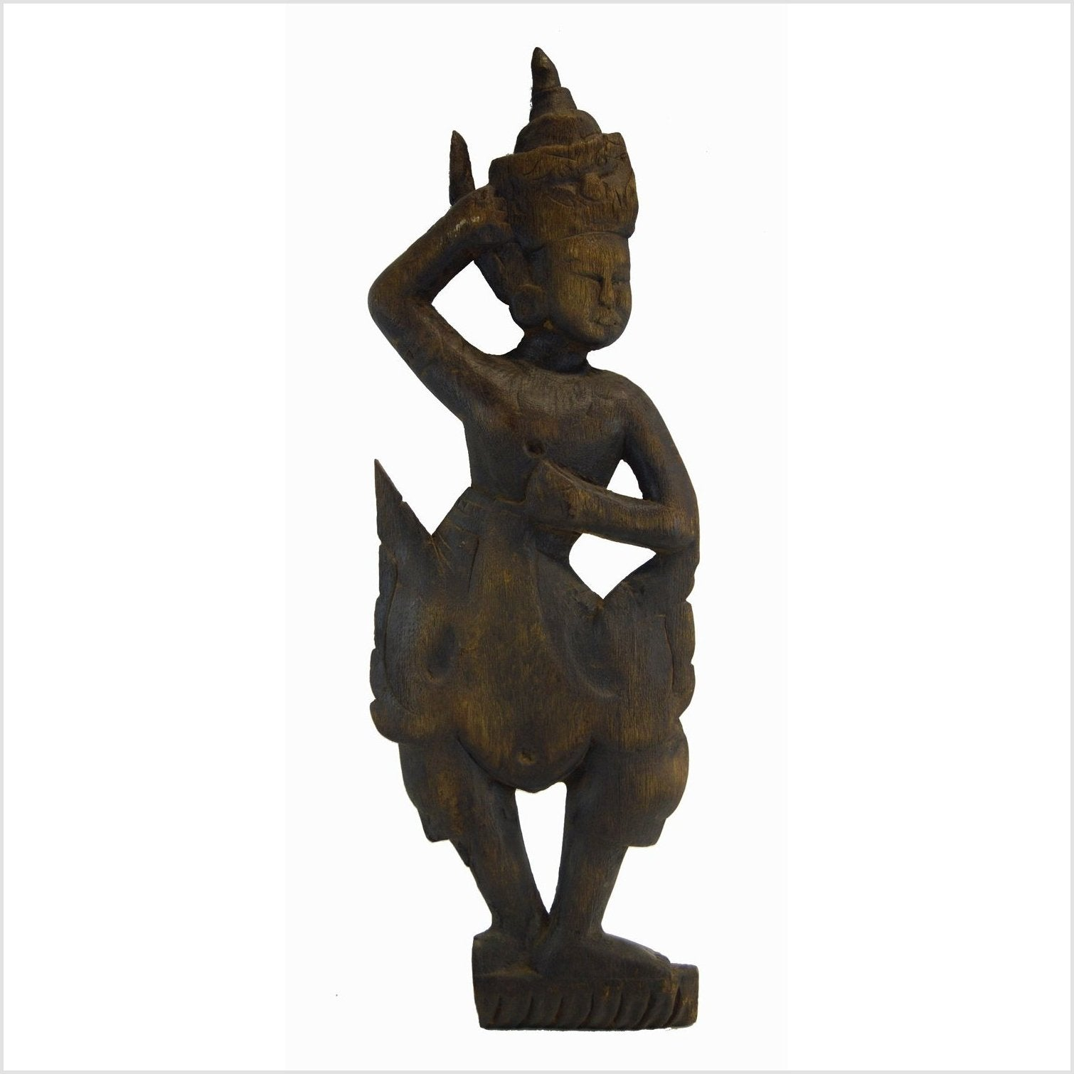 Balinese Hand Carved Temple Dancer