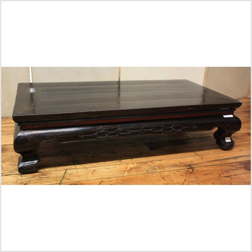 Black Lacquered Prayer Table
