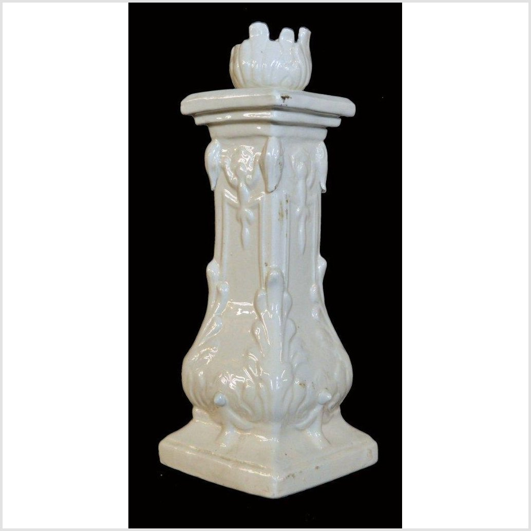 Blanc de Chine Porcelain Candle Holder