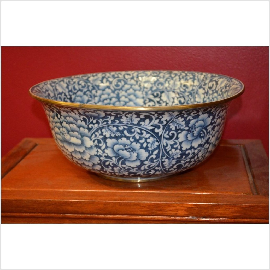 Blue/White Porcelain Bowl