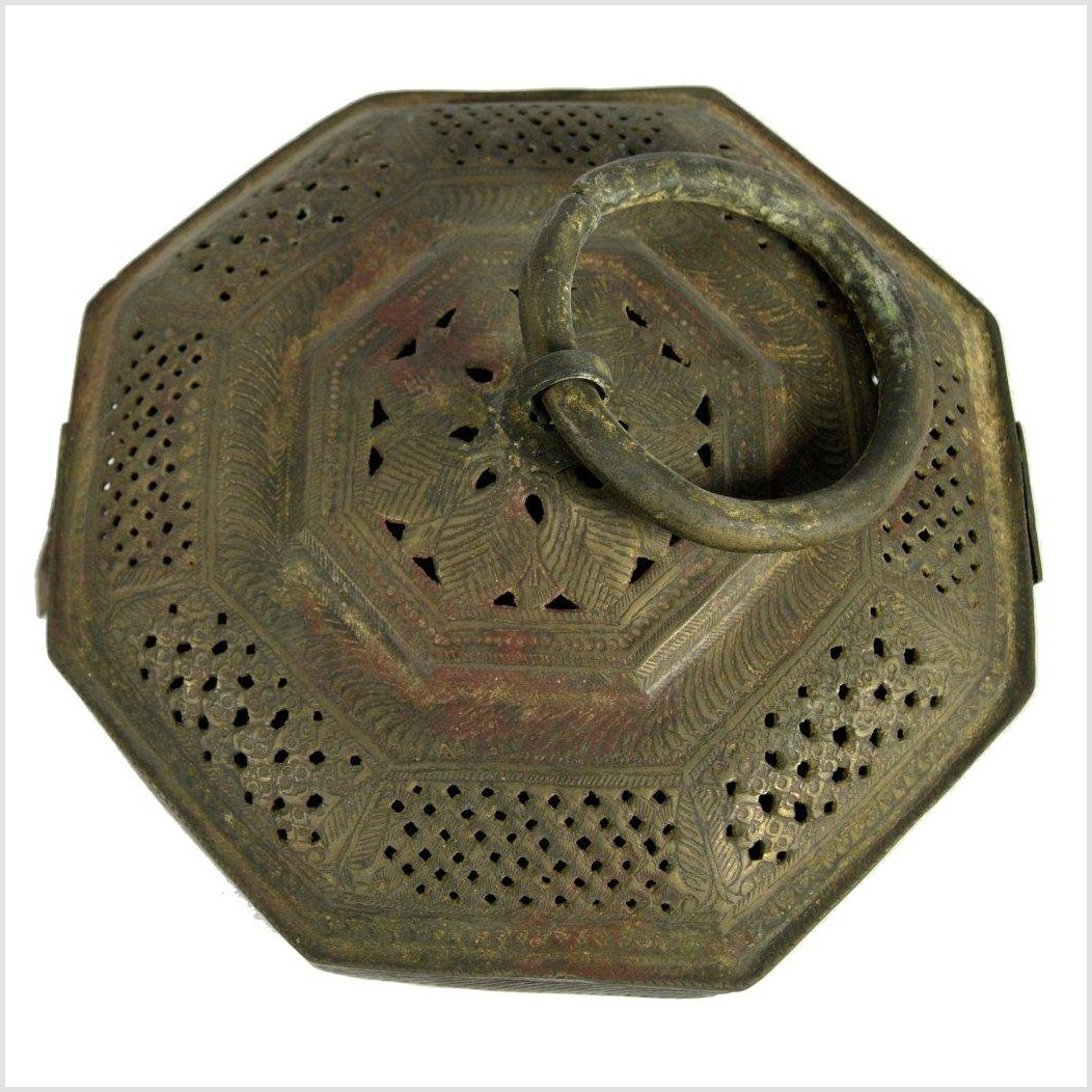Brass Incense Burner Box