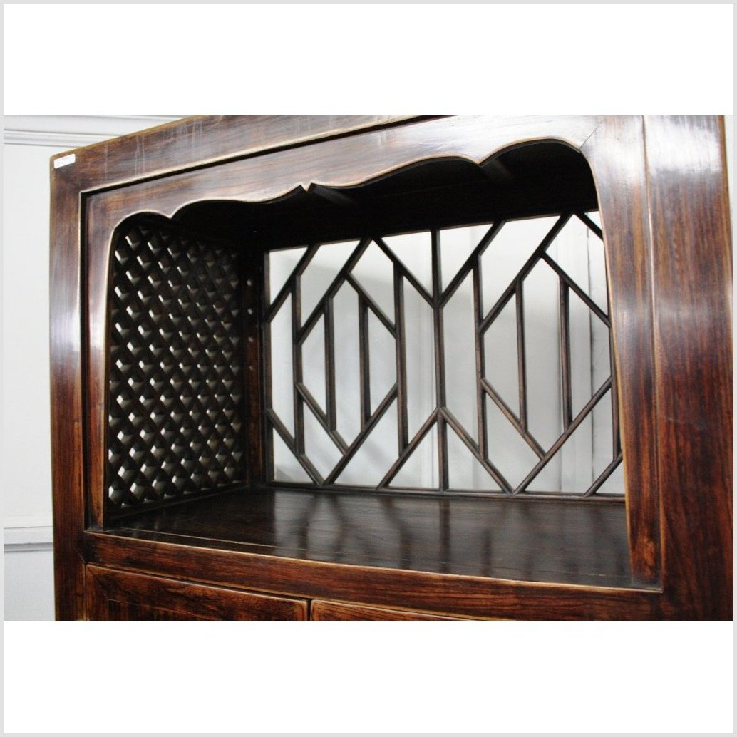 Cabinet with Open Display Top