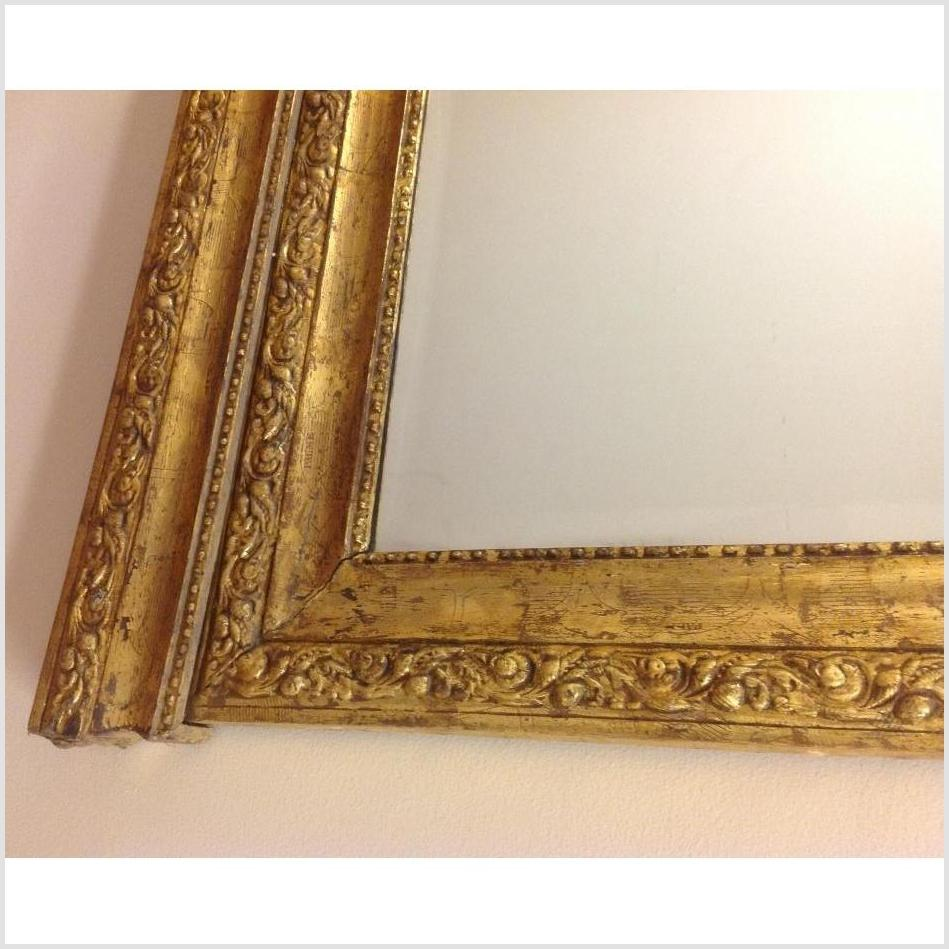 Carved Wood Gilded Mirror