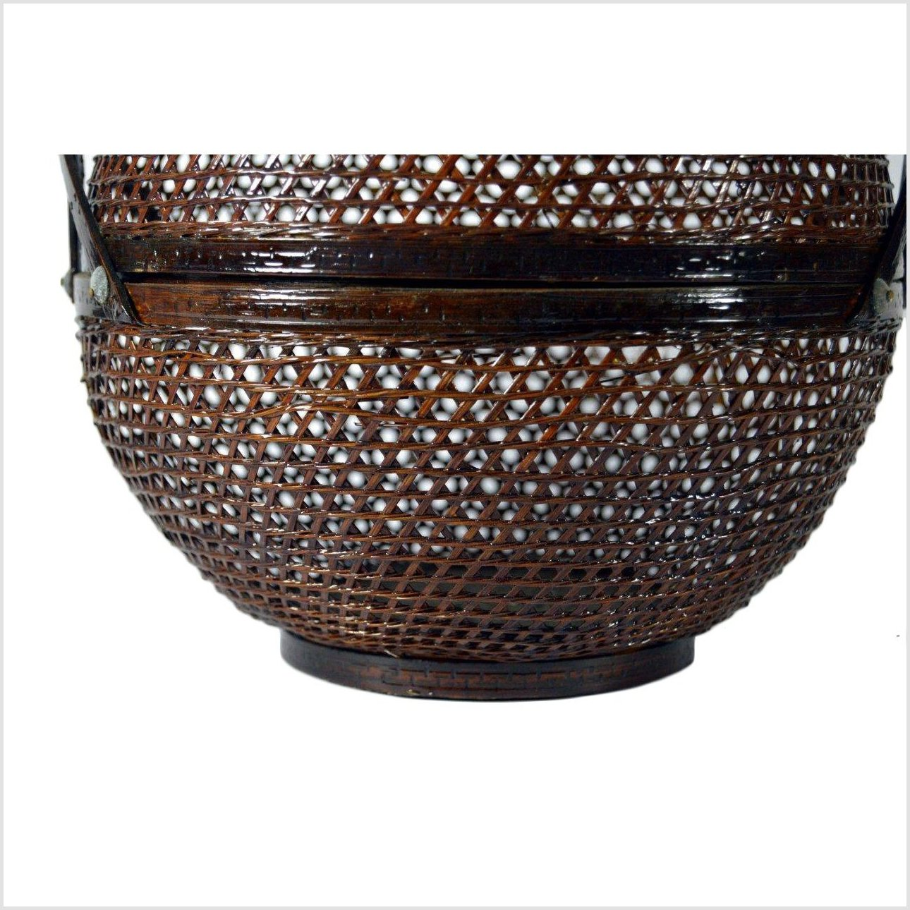 Chinese Lacquered Basket