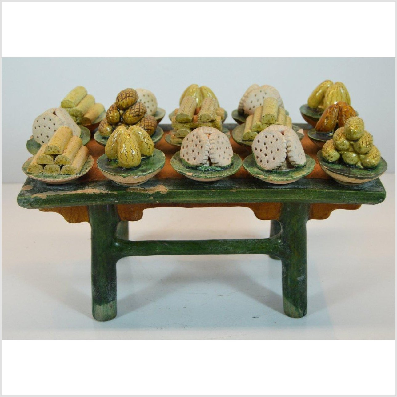 CHINESE MING DYNASTY FUNERARY TABLE