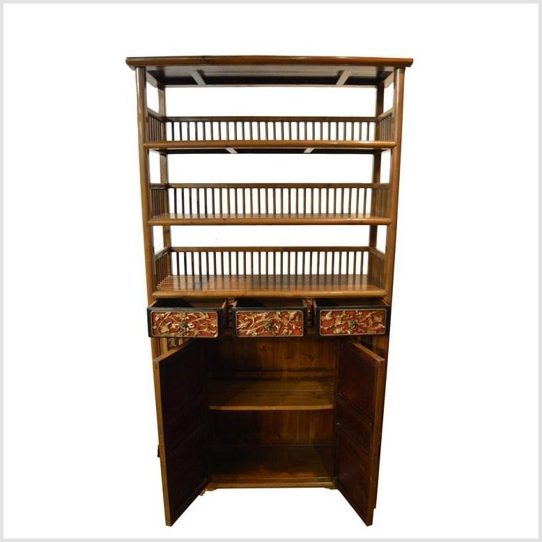 Chinese Open Shelf Display Cabinet