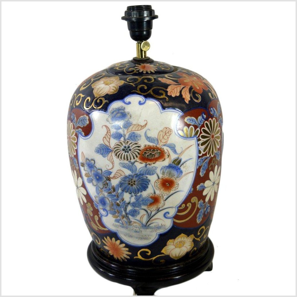 Chinese Porcelain Electric Lamp