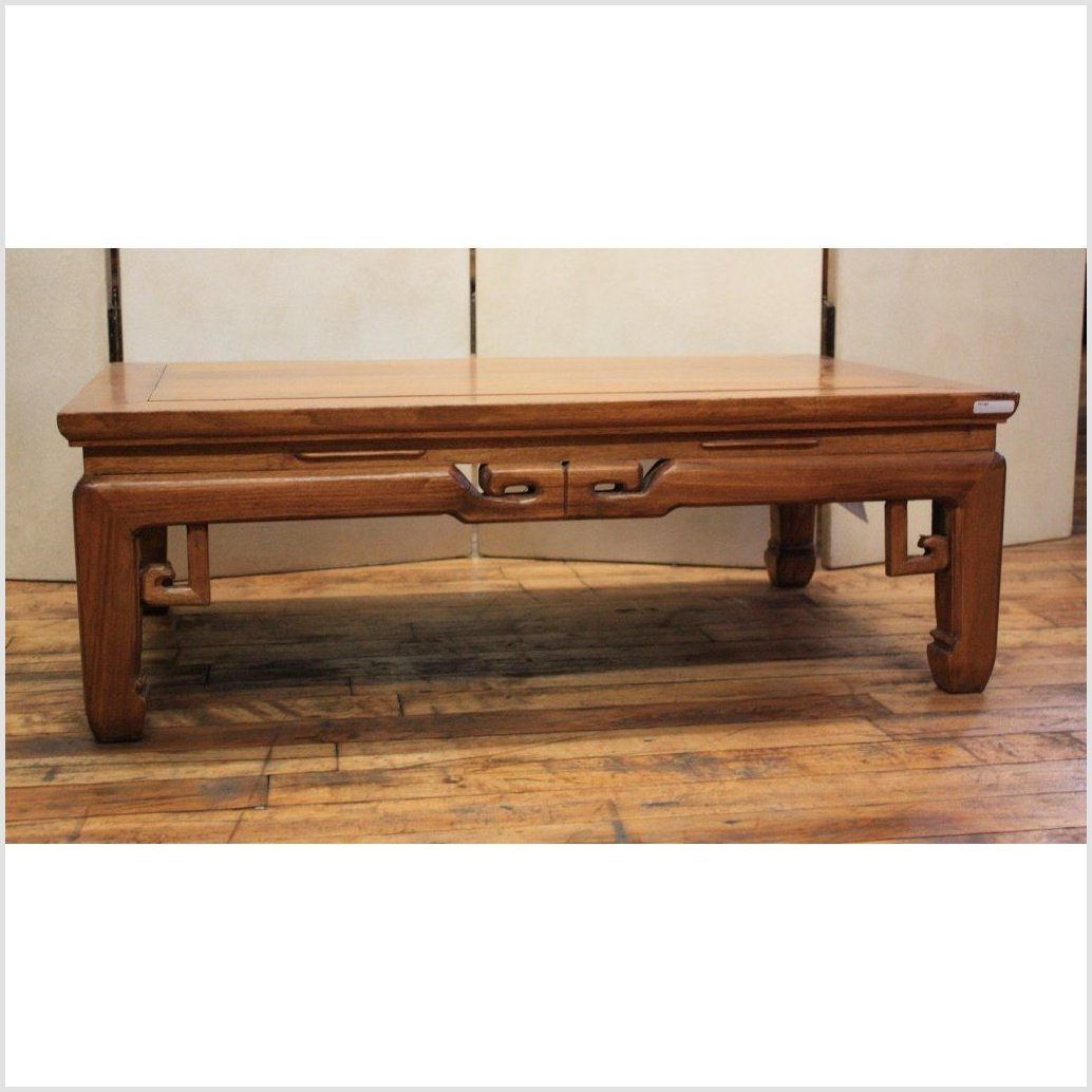 Coffee Table With Openwork Aprons