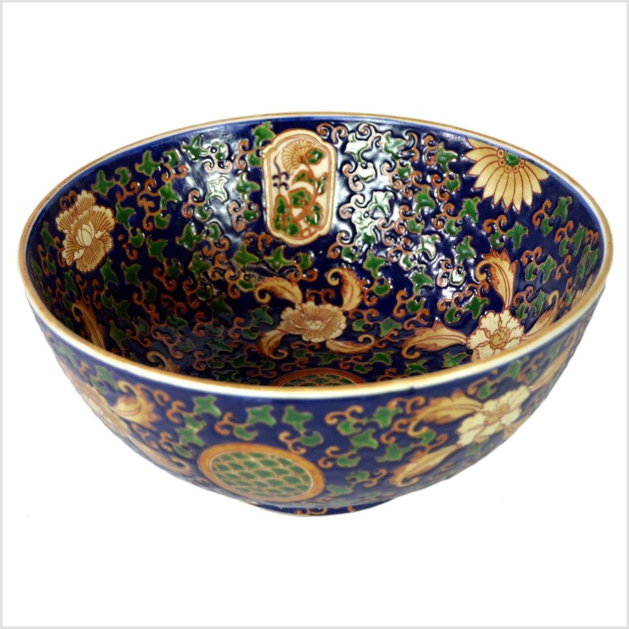 Country Ming Porcelain Bowl