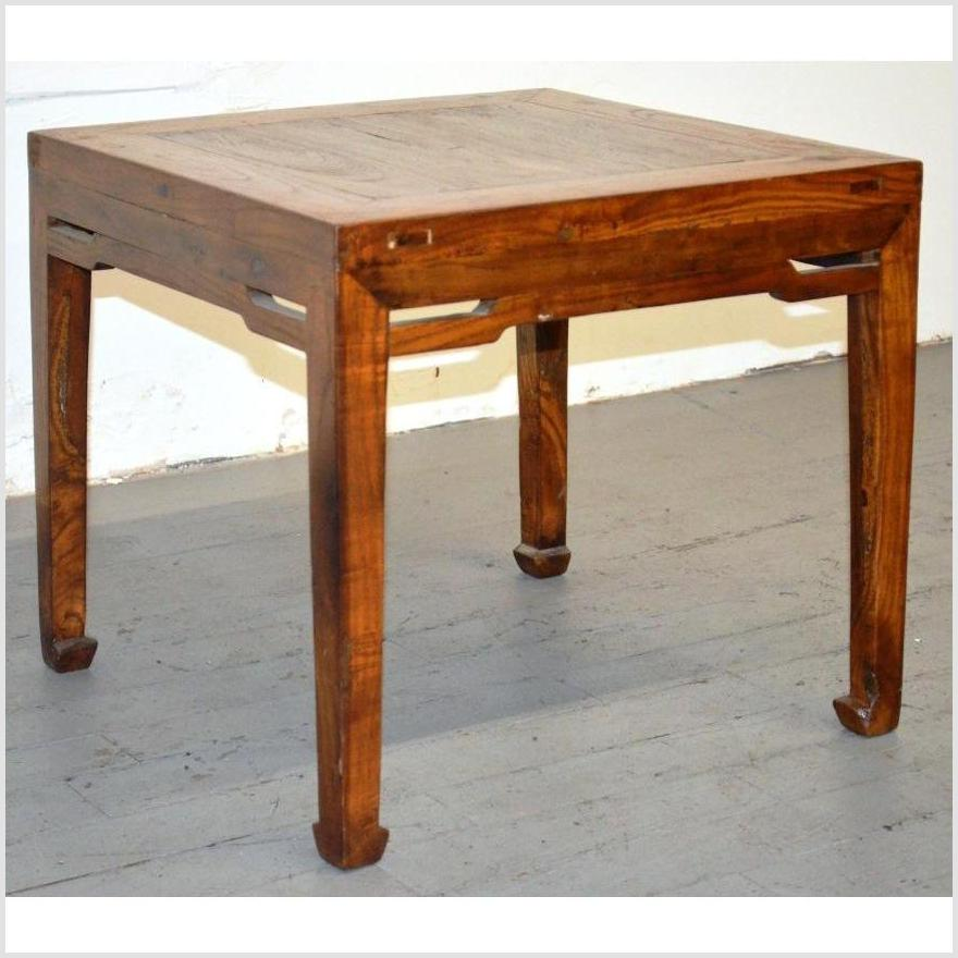 Elmwood Stool with Horse Hoof Legs