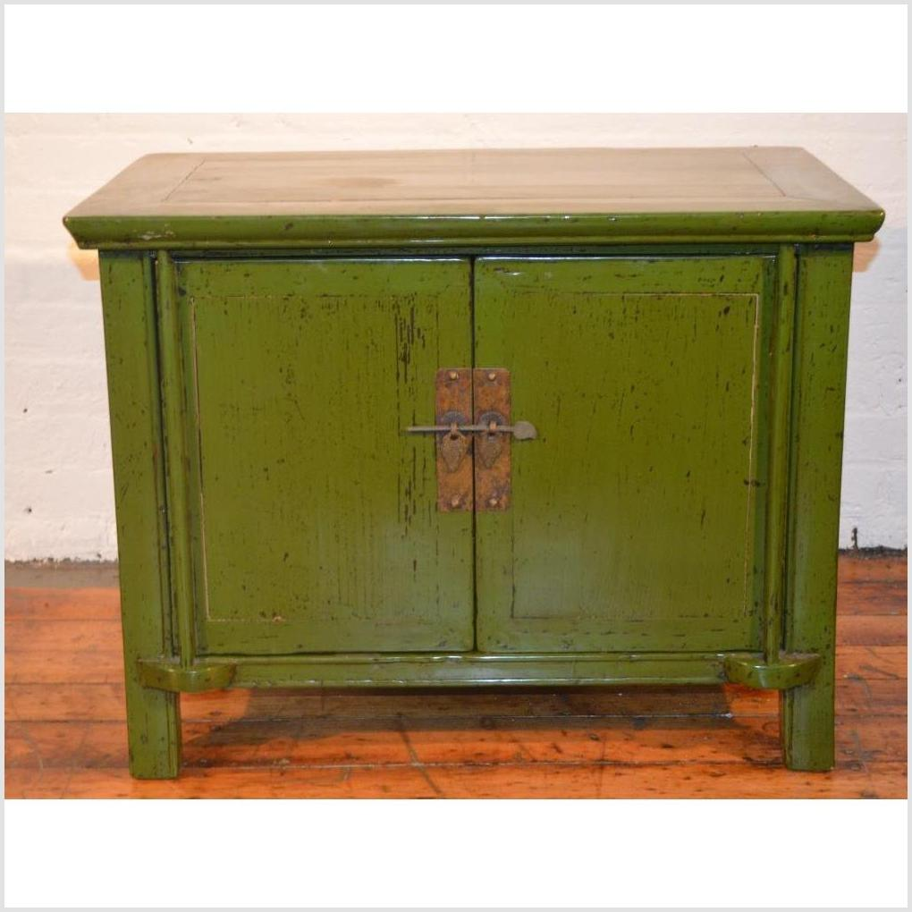 Green Lacquer Cabinet