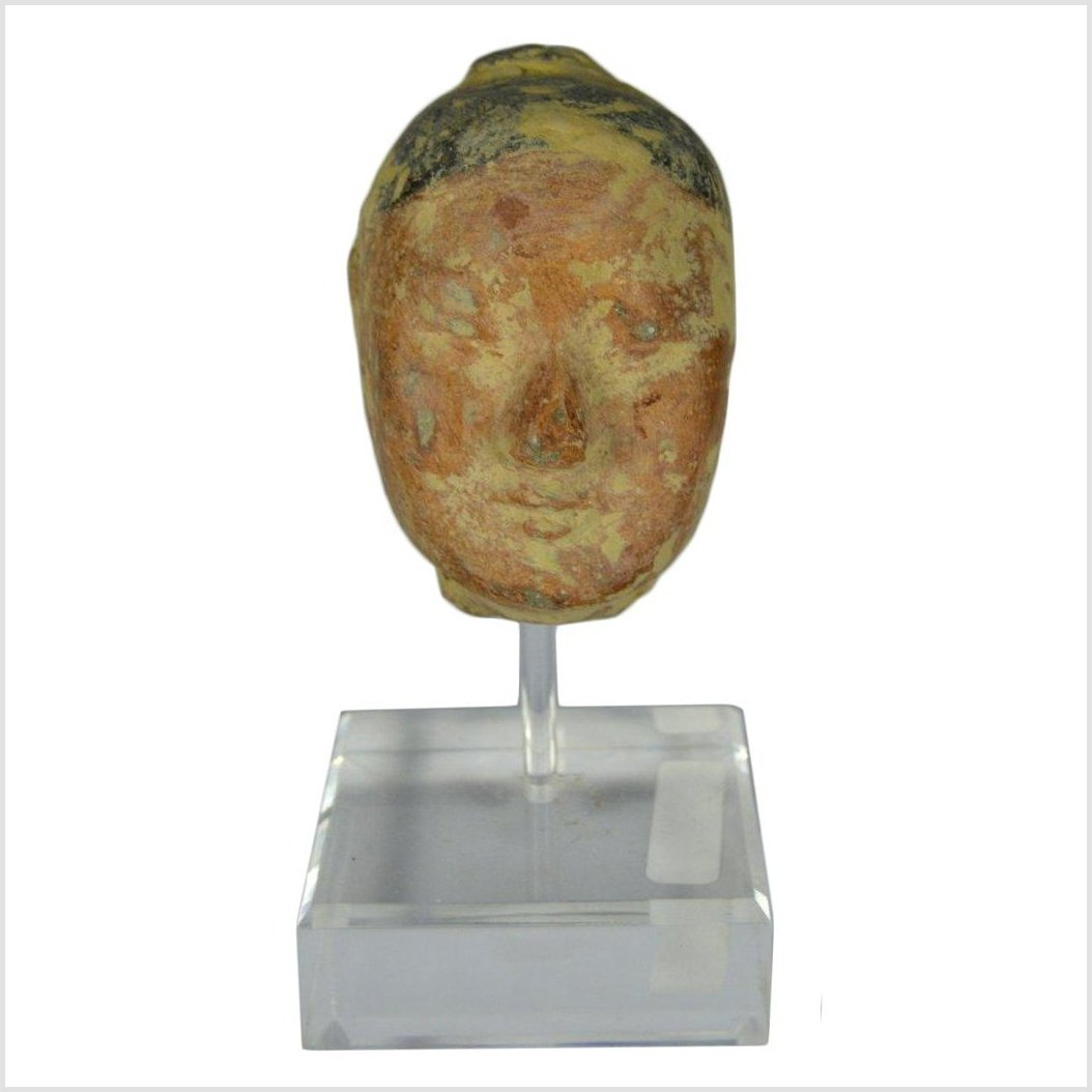 Han Dynasty Terracotta Head