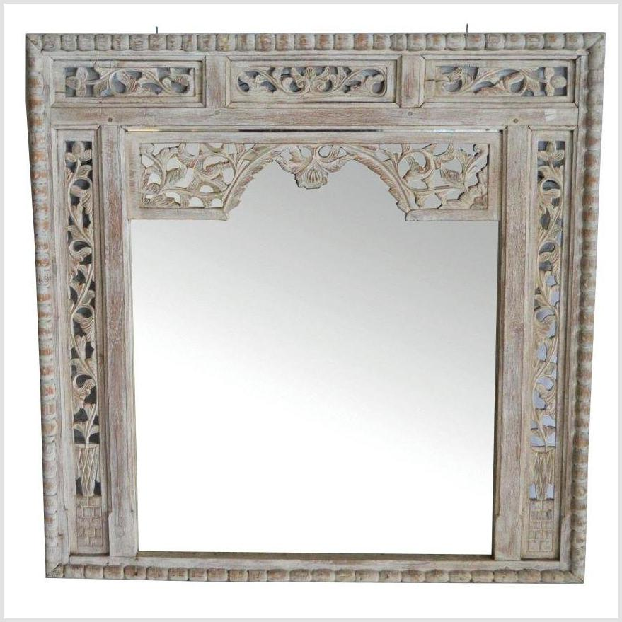 hand carved ORNATE MIRROR