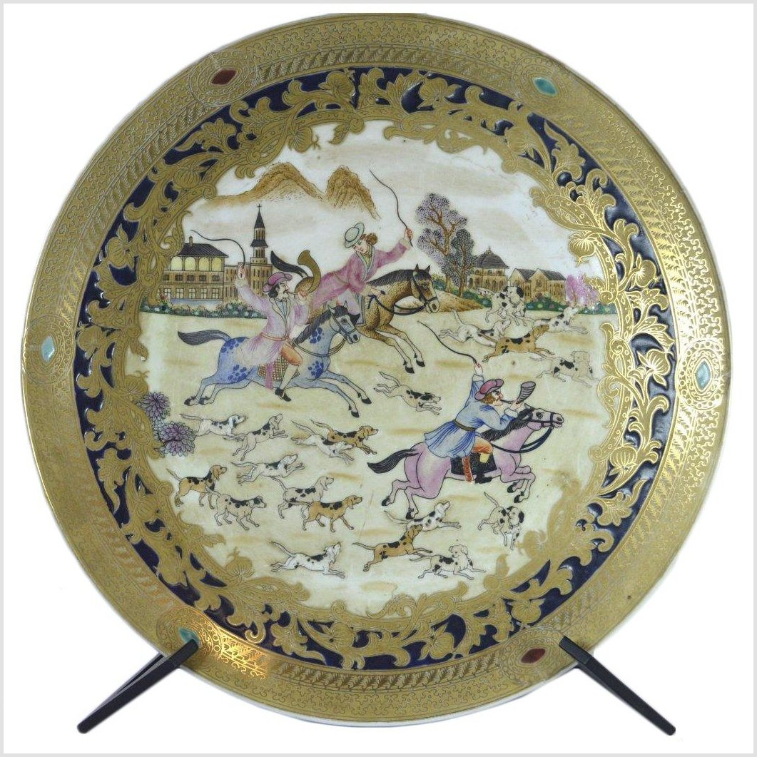Hand Painted China Porcelain Plate