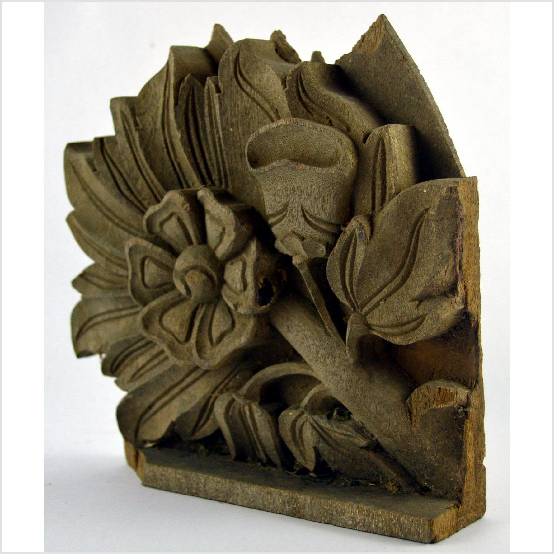 India Hand Carved Temple Plaque