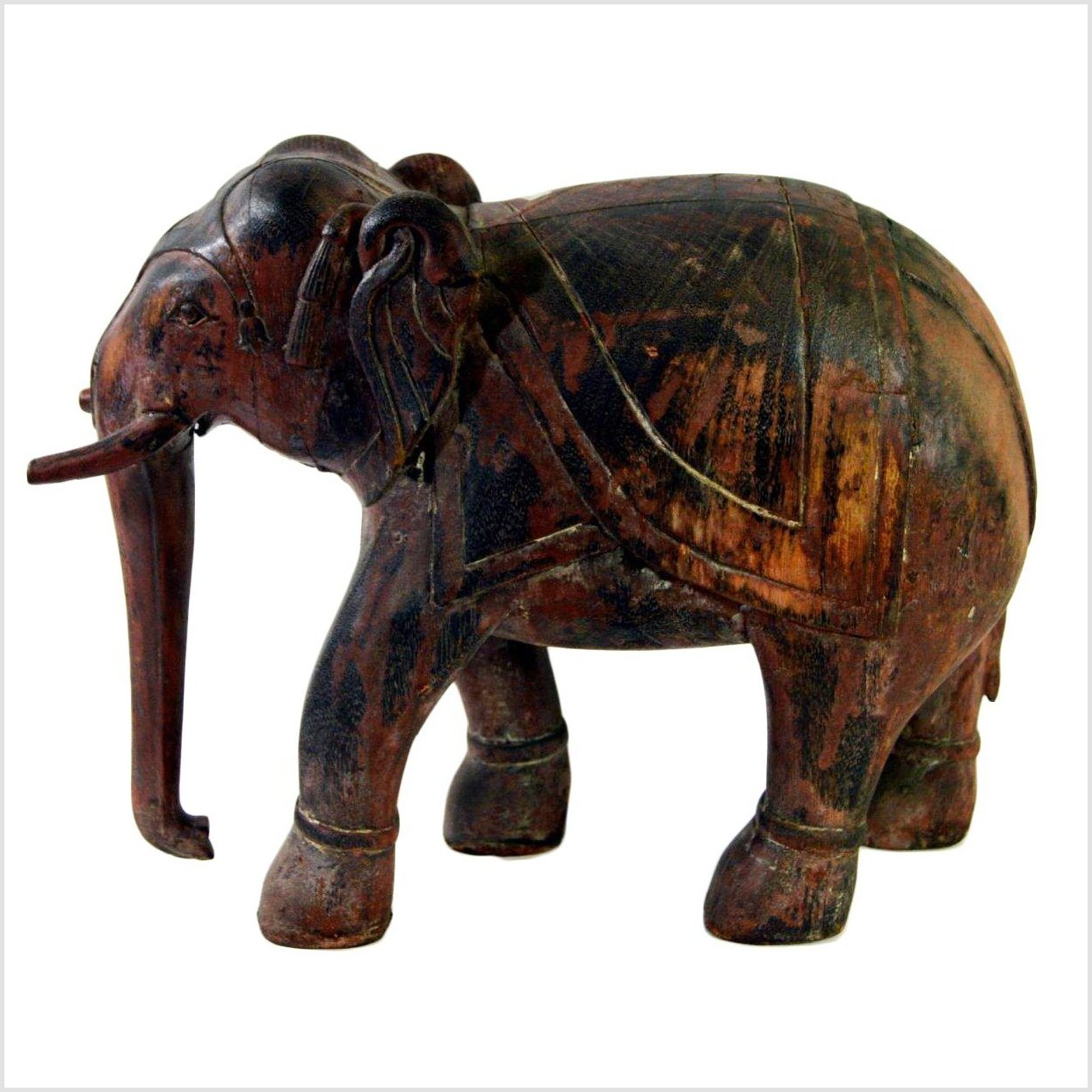 Indian Elephant Carving
