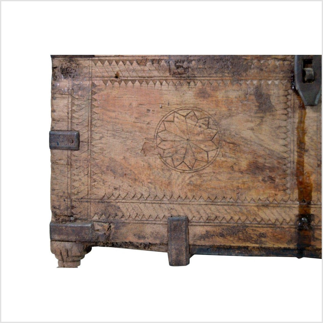 Indian Hand Carved Treasure Box