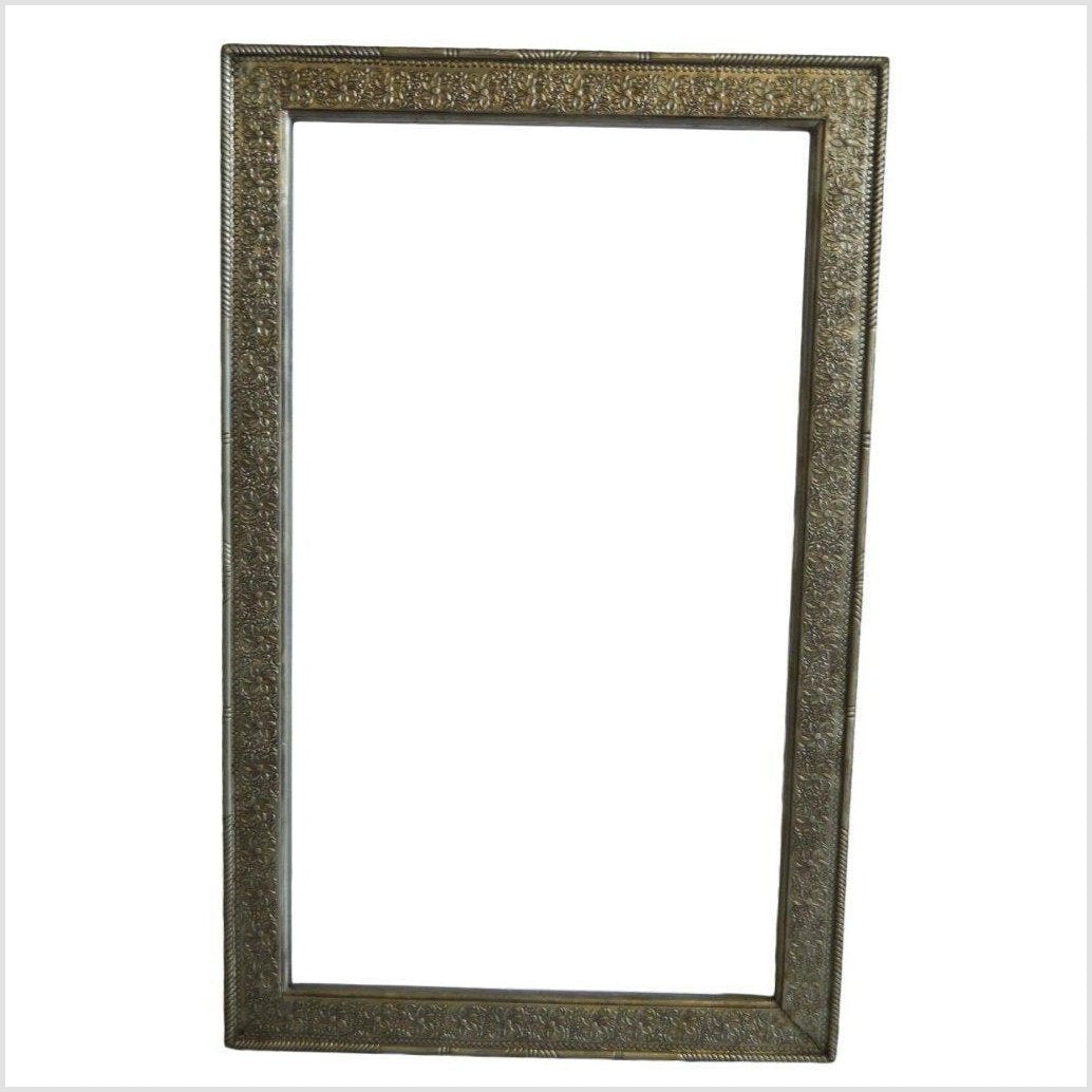 HAND TOOLED ORNATE FRAME