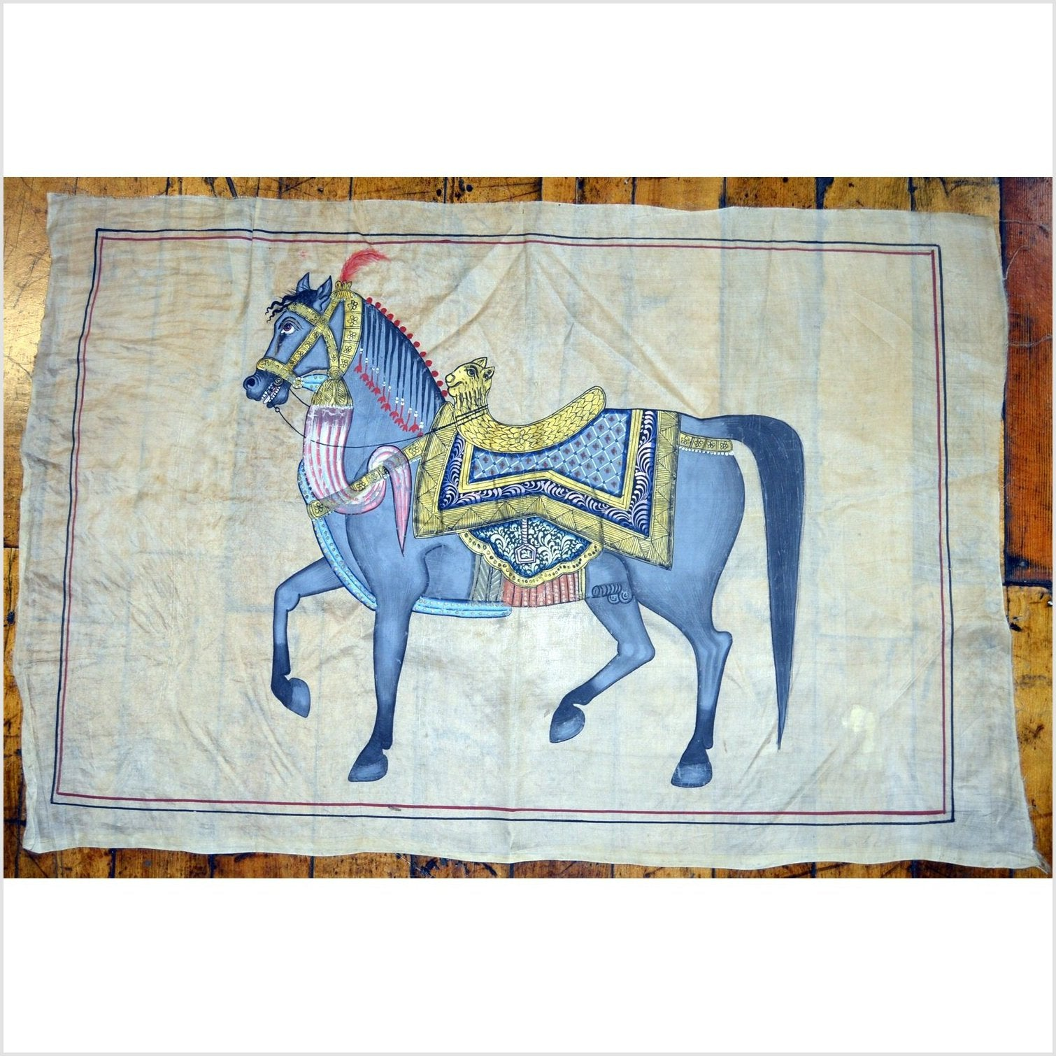 Indian Royal Horse Tapestry