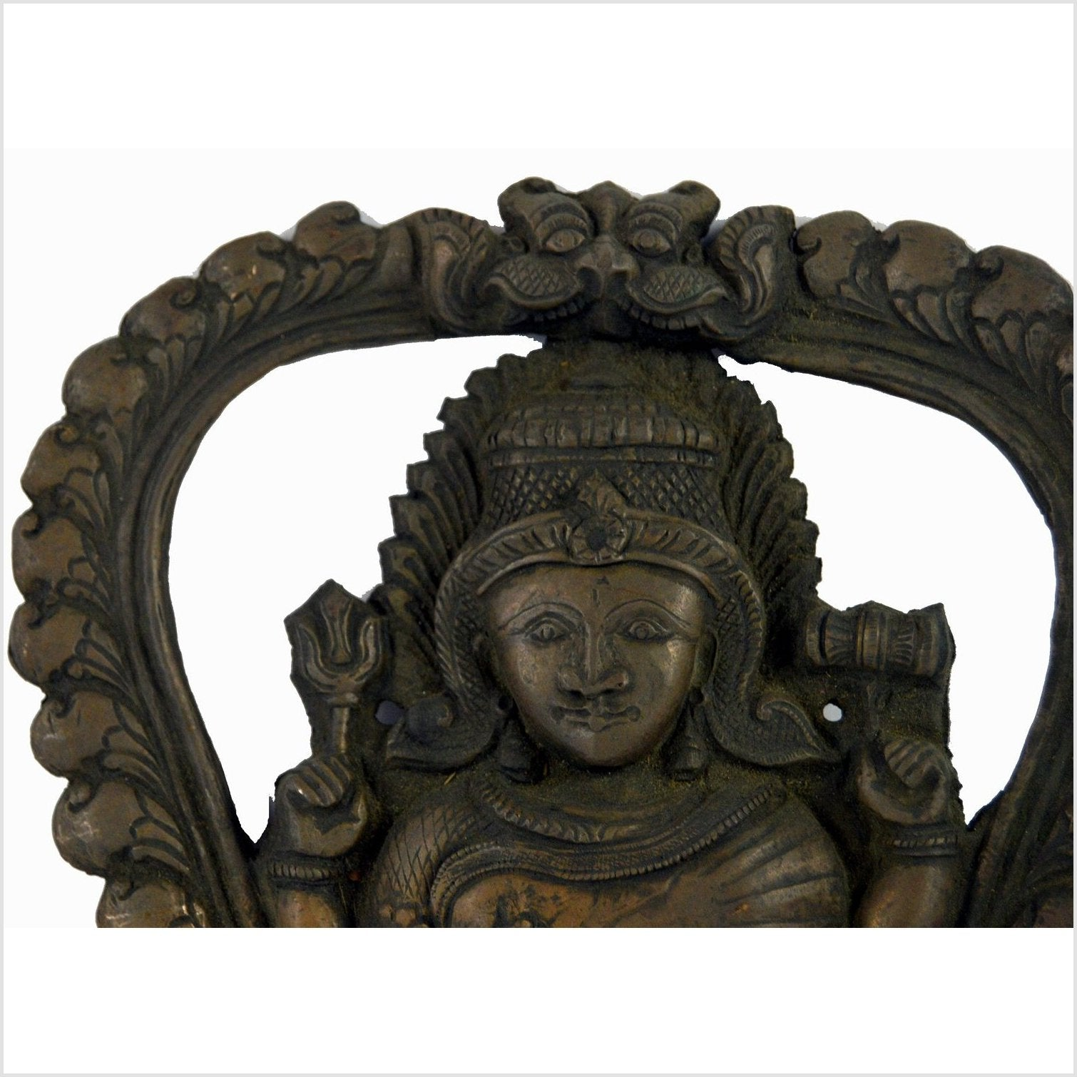 Indian Temple Brass Plaque