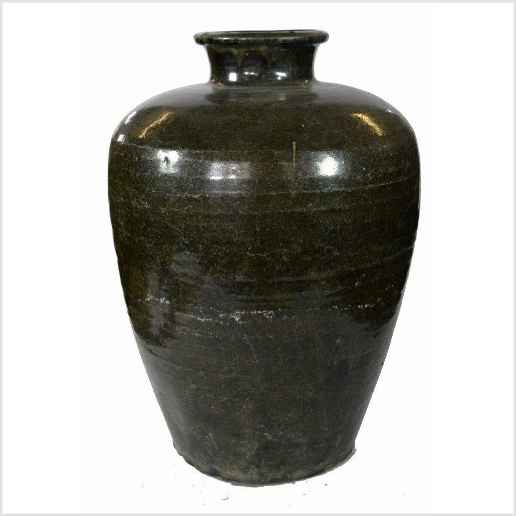 Indonesian Large Ceramic Vase