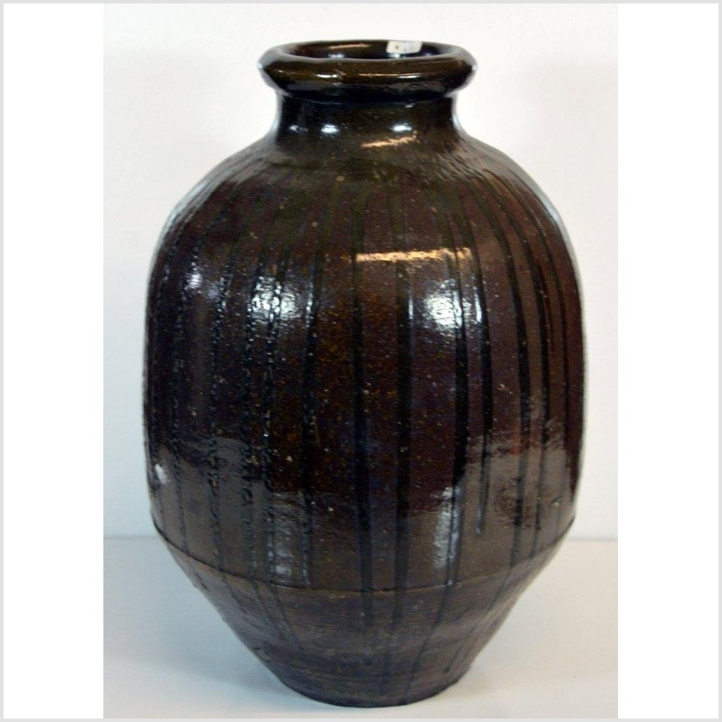 Japanese Tamba Ware Water Jar