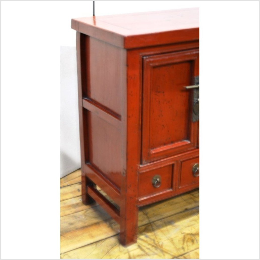 Lacquered Side Cabinet